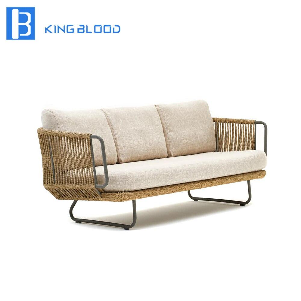 Уличная мебель диван терраса наборы ротанга открытый диван