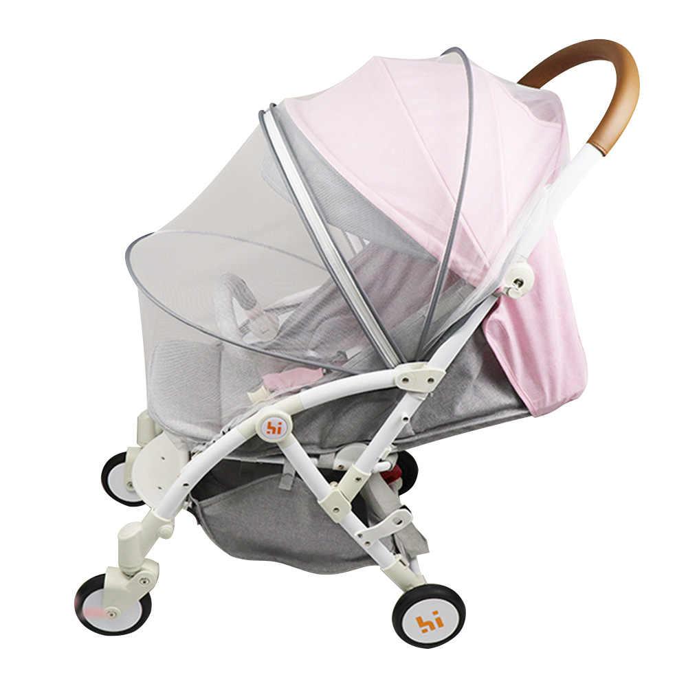 Odpowiednio zaplanować podróż ochrona przed owadami moskitiera siatki Buggy pełna pokrywa wózek wózek wózek dla dziecka dzieci bezpieczne siatki akcesoria do łóżeczka