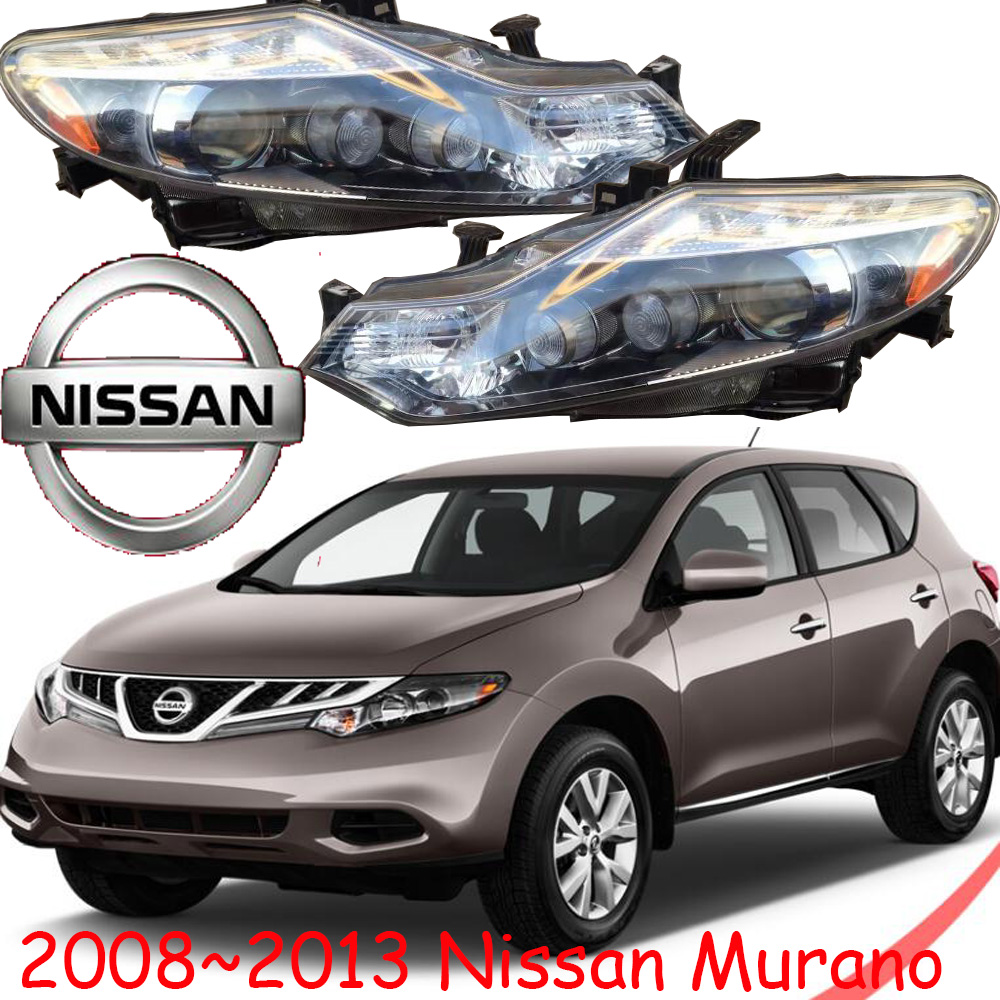 2008~2013year,car-styling,Murano headlight,Free ship!chrome,Murano fog lamp,Tsuru,stagea,Micra,sylphy,Murano head lamp for lexus rx gyl1 ggl15 agl10 450h awd 350 awd 2008 2013 car styling led fog lights high brightness fog lamps 1set