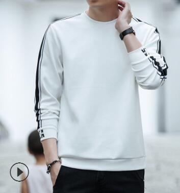 Для мужчин свитер 2018 на осень-зиму Новый Для мужчин swear молодежи с длинными рукавами круглый воротник глава корейской версии тенденция боди ...
