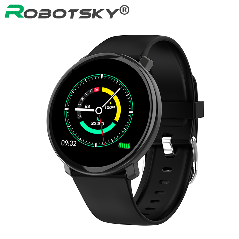 Robotsky <font><b>M13</b></font> Smart <font><b>Watch</b></font> Full Screen Touch IP67 Waterproof Bluetooth Smartwatch Fitness Bracelet Multiple Sports for Android IOS image