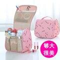 Bolso cosmético bolso cosmético mujeres de almacenamiento de cosméticos de gran capacidad neceser de viaje a prueba de agua