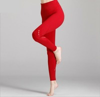 Brand New Womens Spring High Waist Yoga Pants Solid Colors Jogging Leggings Exercise Running Sport Pant