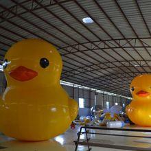 Прекрасные надувные игрушки, популярная большая желтая надувная утка, заказной надувной мультфильм с Заводской ценой