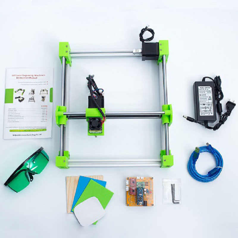 bachin 1720 mini laser cutter engraver diy laser engraving machine  17*20cm work area 0 5