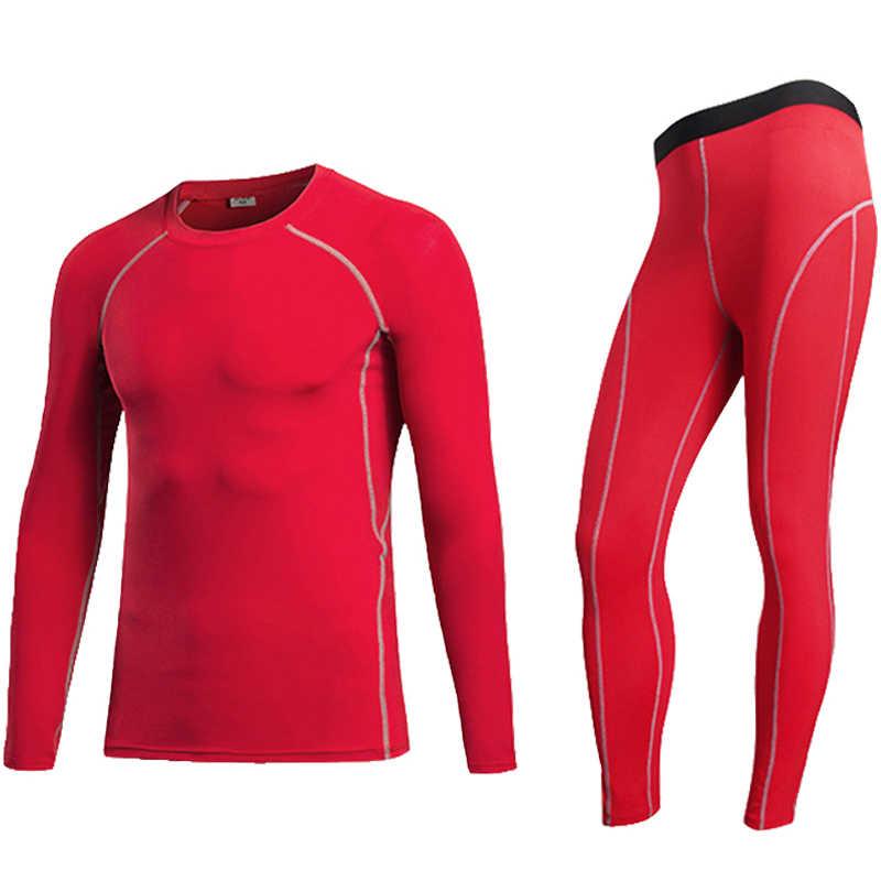 Компрессионный костюм для фитнеса, компрессионный костюм для мужчин, спортивные костюмы для бодибилдинга, спортивные костюмы для бега, компрессионный базовый слой кожи