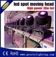 Оптовая цена 30 Вт Новый диско-ночной клуб DJ Мини 30 Вт Moving Head местная подсветка 7 гобо 7 цветов DMX 7/12CH светодиодный прожектор
