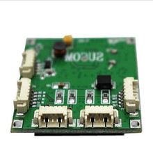 Mini module de commutateur PBCswitch taille 4 Ports commutateurs réseau carte Pcb mini module de commutateur ethernet 10/100 Mbps OEM/ODM hub ethernet