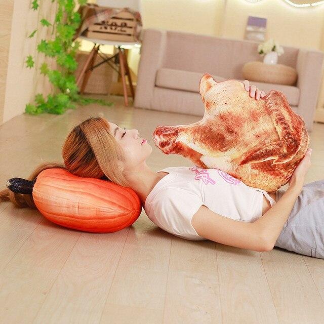 brixini.com - Yummy Food Plush Pillows