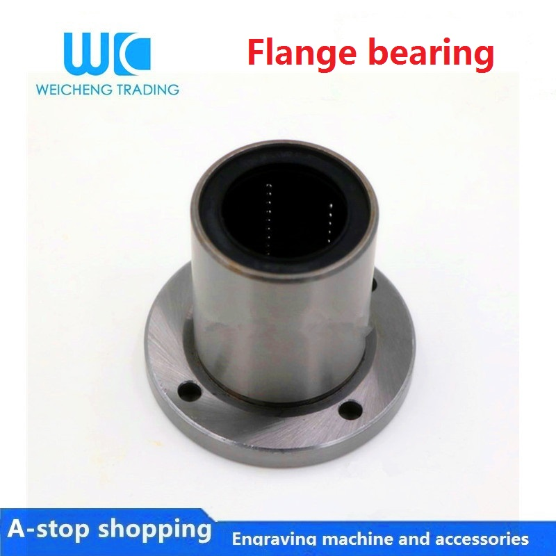 2Pcs SK-20 20mm Rail Linear Motion Shaft Guide Support Bearing Axis bracket
