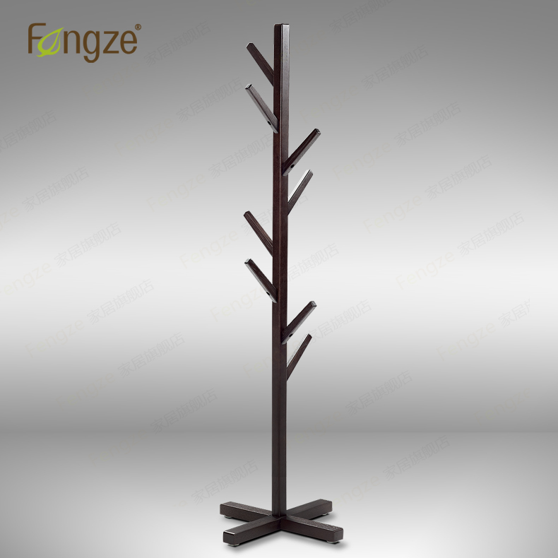 FengZe Home Furnishing FZ902 Modern Cloth Hanger Hat Rack Solid Wood in birch and oak Living Standing Hanger 1800mm Holder trees fengze furnishing fz821 modern solid wood shoes storage multifunction solid wood flower rack standing plants display cabine