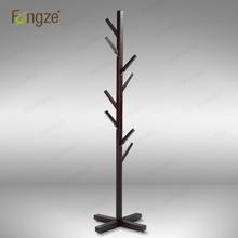 Furniture - Home Furniture - FengZe Home Furnishing FZ902 Modern Cloth Hanger Hat Rack Solid Wood In Birch And Oak Living Standing Hanger 1800mm Holder Trees