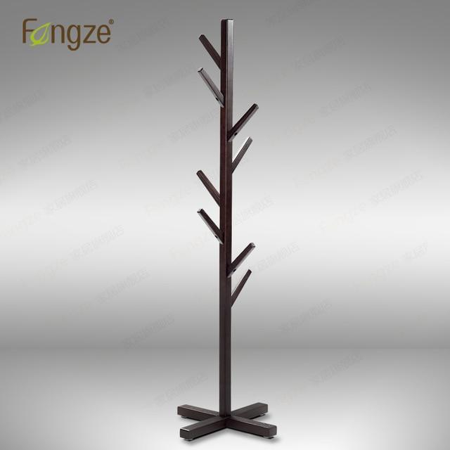 Fengze hogar FZ902 moderno percha perchero madera sólida de abedul y ...