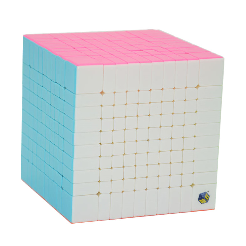 Zhisheng Huanglong 10x10x10 Square Magic Puzzle Cube 10*10*10 Professor Speed Magic Cube Adult Learning & Educational Toys Gift 10