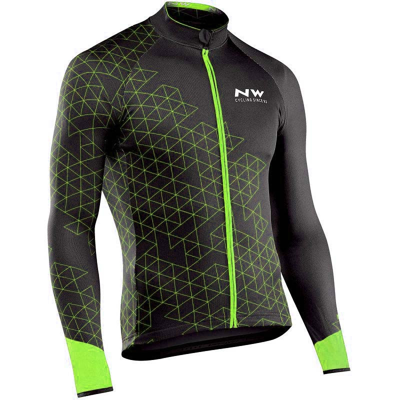 Bicycle Clothing Jersey NW Spring Long-Sleeve Mountain-Racing Maillot Ropa-Ciclismo Autumn
