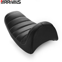 Motorcycle Black Cowl Fender Tail Seat For Harley Sportster Cafe Racer XL 883 1200