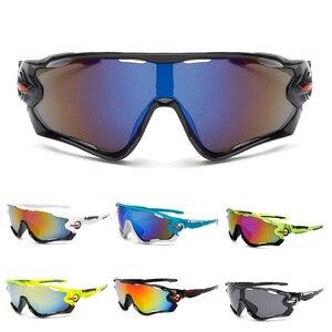 في الهواء الطلق رياضة الدراجات النظارات الشمسية 3 العدسات الرمال واقية الاستقطاب دراجة نظارات النساء الرجال ركوب الدراجة نظارات دروبشيبينغ