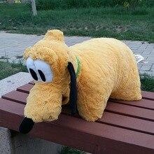 Rare Original Pluto Dog font b Cute b font Stuff Plush Toy Cushion font b Pillow