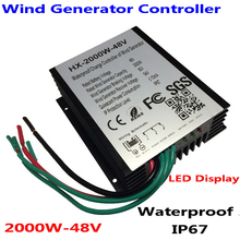 2000W Wind Controller Turbine Charge For 48V 96V AC Generator
