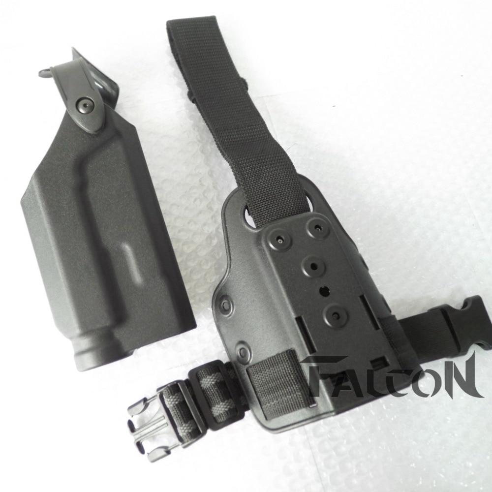 ᐃMarca FS estilo Colt 1911 RH pistola táctica holster con linterna ...