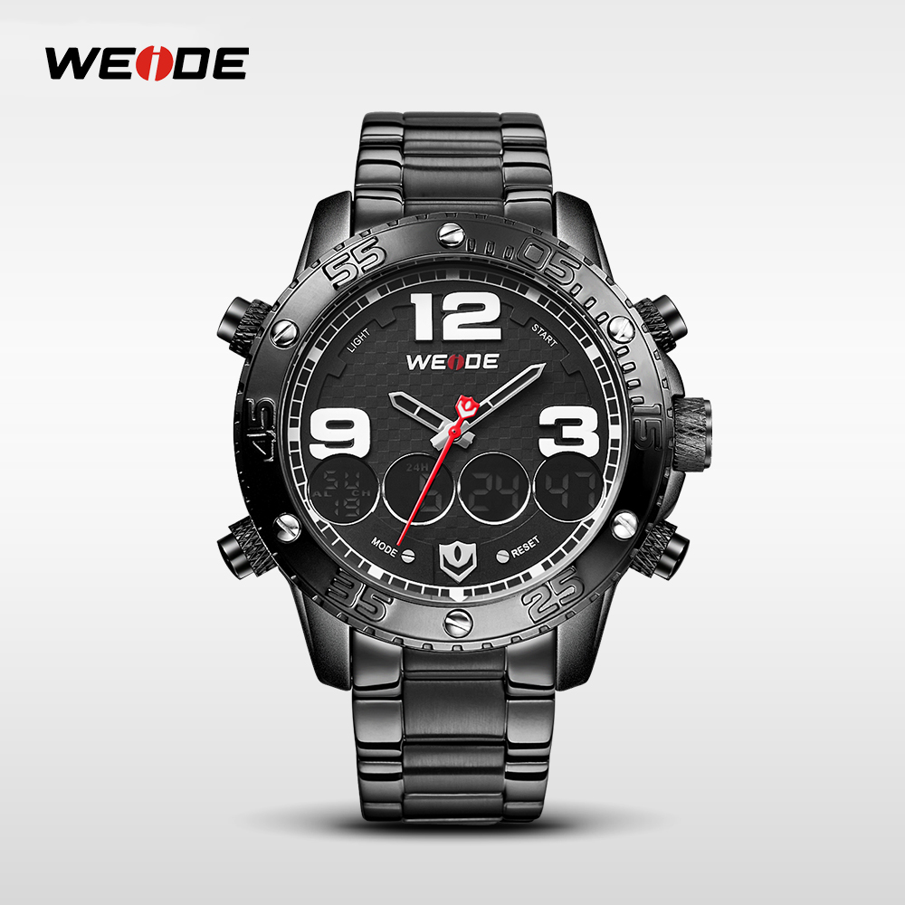 WEIDE Brand Men Fashion Casual Sport Watches Man Quartz Wristwatch Stainless Waterproof Watch Male Clock Reloj Masculino WH3405 new arrival 2015 brand quartz men casual watches v6 wristwatch stainless steel clock fashion hours affordable gift