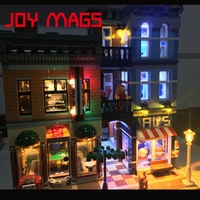 JOY MAGS Only Led Light Light Up Kit For Creator 10246 Detective Office Excluding Building Blocks