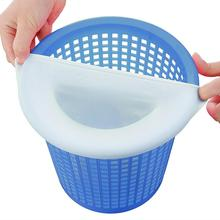 5/10/20pcs/set Filter storage pool skimmer socks nylon swimming pool filter socks for baskets and skimmers white Pool Supplies