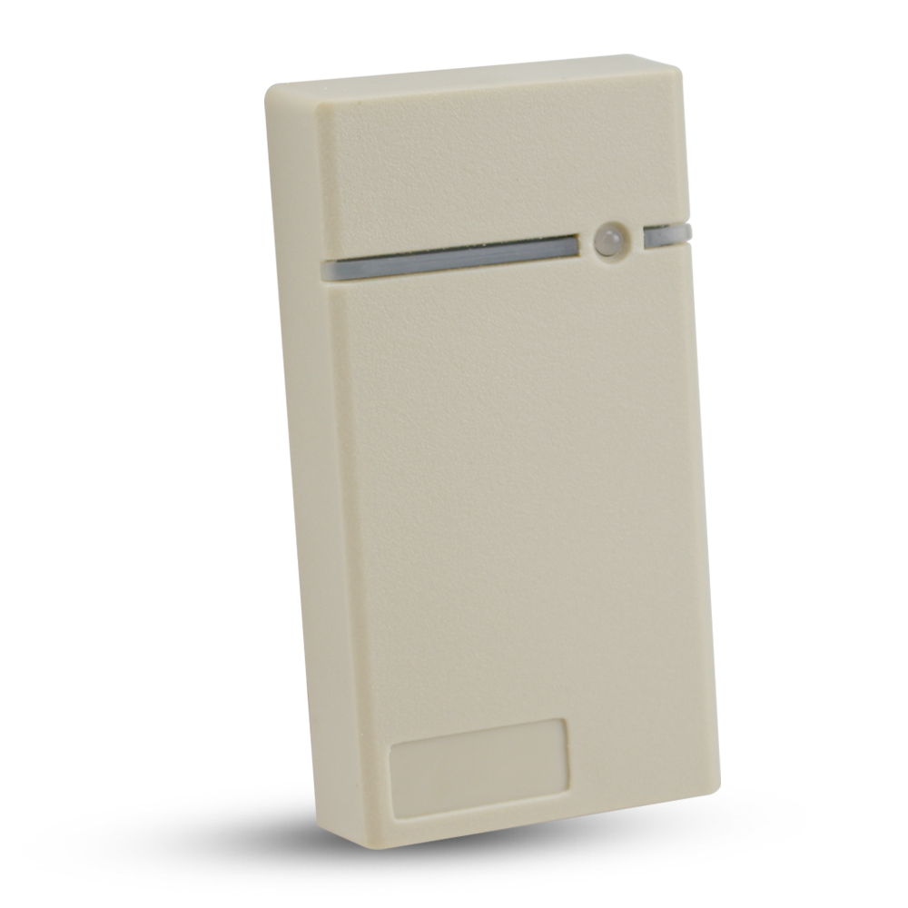 125KHz RFID card reader waterproof EM ID proximity reader with LED light for door access control system white color 125khz rfid id em card reader