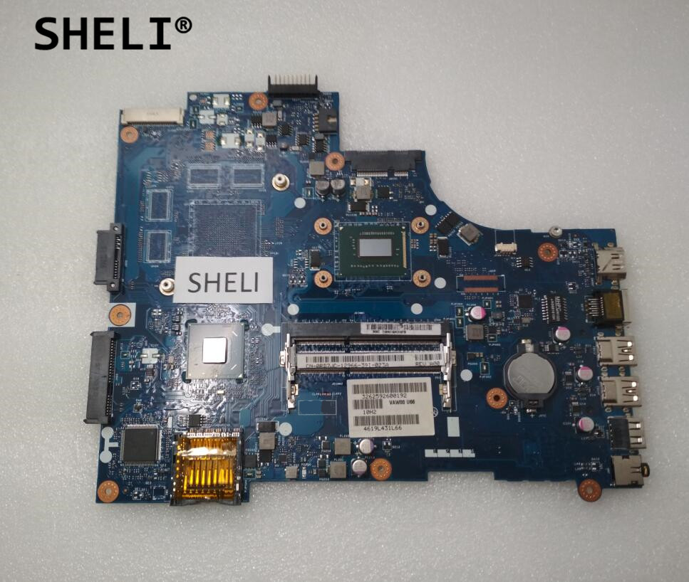 SHELI For Dell 15R 3521 5521 Motherboard with I7 3537U LA 9104P CN 0RD7JC 0RD7JC RD7JC