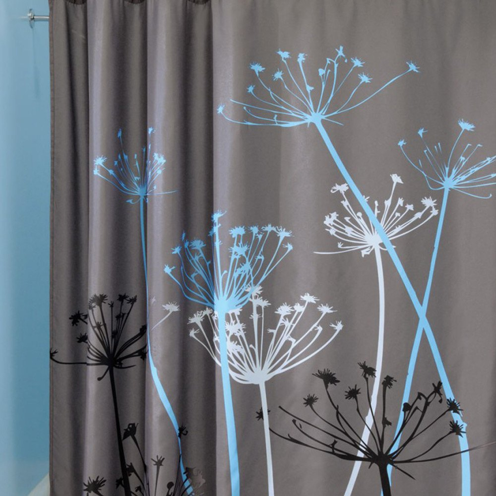 Bathroom plastic curtains - 2016 Hot Sale Dandelion Pattern 3d Waterproof Polyester Shower Curtain With 12 Plastic Hooks Curtains For Bath Shower In Shower Curtains From Home Garden