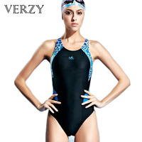 2016 Fashion Cute Girls Professional Swimwears Young Lady Athlete Sexy Triangle Backless Female Dive Swim Competition