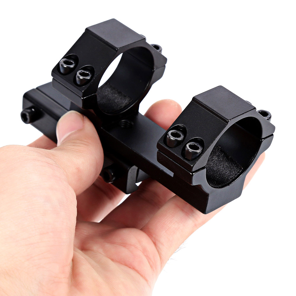 30mm Scope Rings Mount 100mm Long Z Shape For Hunting Rifle Gun Tactical Riflescope Picatinny Weaver Rail Acceessories