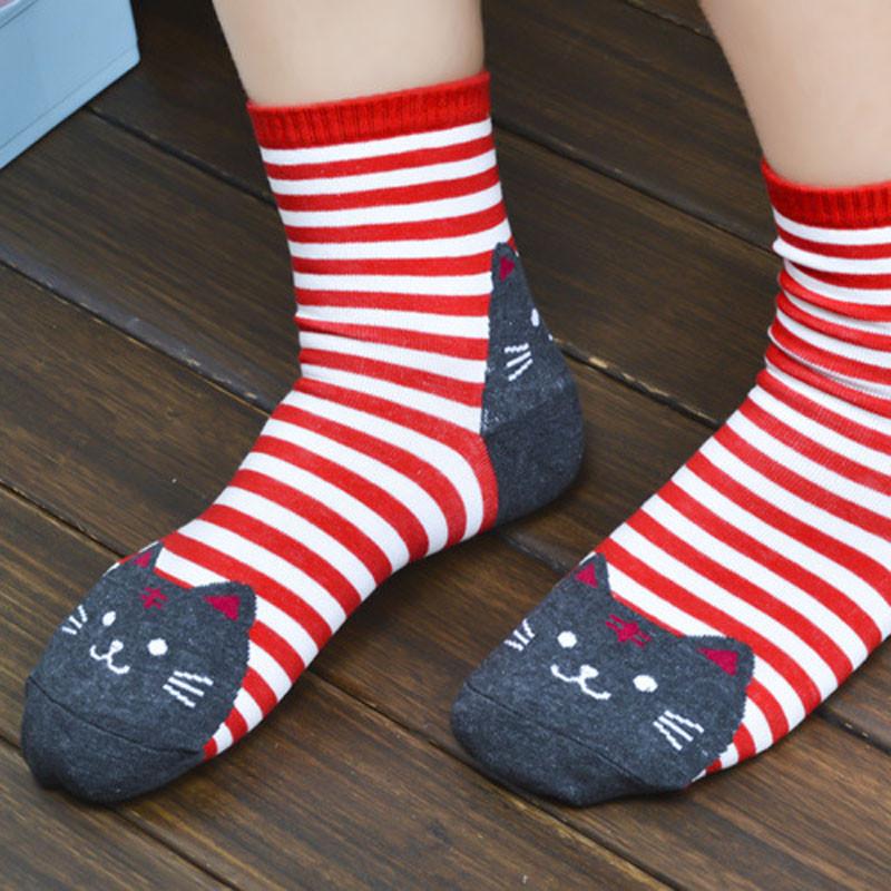 Cute Socks With Cartoon Cat For Cat Lovers Cute Socks With Cartoon Cat For Cat Lovers HTB1xw2MQVXXXXc6apXXq6xXFXXXr