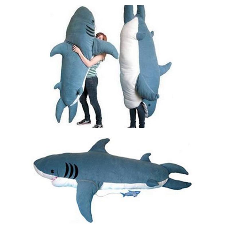 Fancytrader Pop Giant Shark Plush Toy Sleeping Bag Bite Me Sharks ...