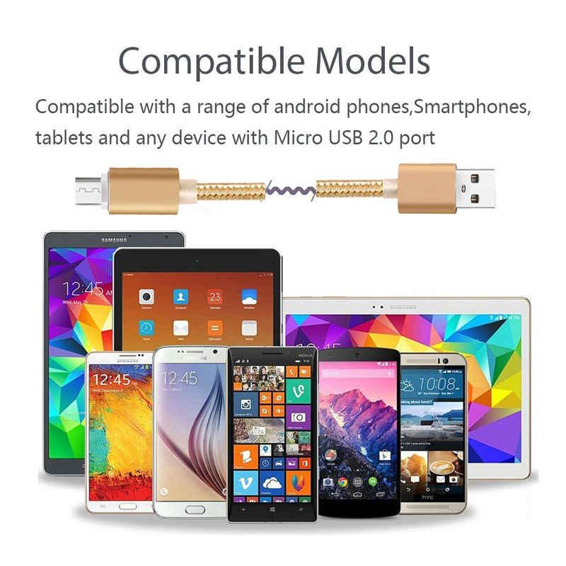 المصغّر usb كابل الشاحن سريع لمايكروسوفت Lumia 640 XL 850 750 640 535 540 550 532 1330 1525 1320 1520 البيانات كابل شاحن مزامنة