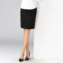 Elegant Elastic Maternity Pencil Cut Skirt