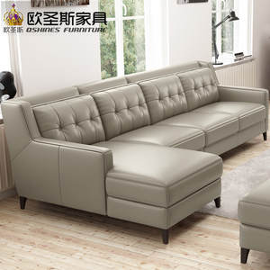 ZUNBIN American Style Sectional Set Designs Leather Sofa