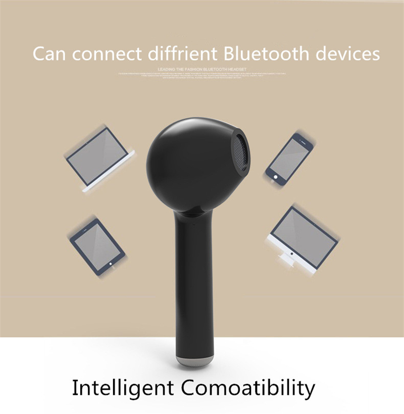 Universal i7s TWS Wireless Bluetooth 5.0 Earphonse Earbuds Headset With Mic For iPhone Xiaomi Redmi Samsung Huawei andriod ios