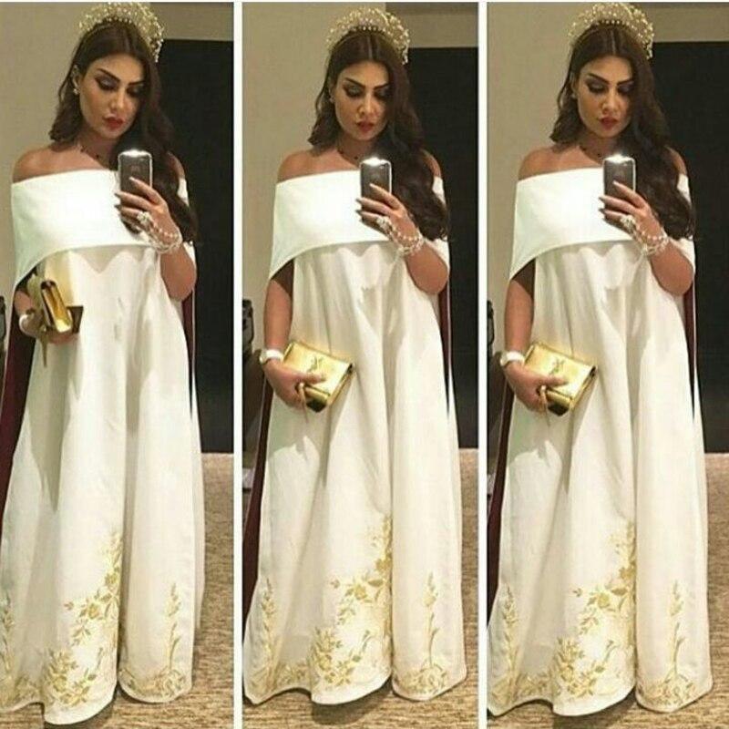 d9de74e258c Elegant Aso Ebi Strapless Evening Dresses With Cape Arabic Unique Applique  Long Evening Gowns Dubai Formal Party Dress Vestido