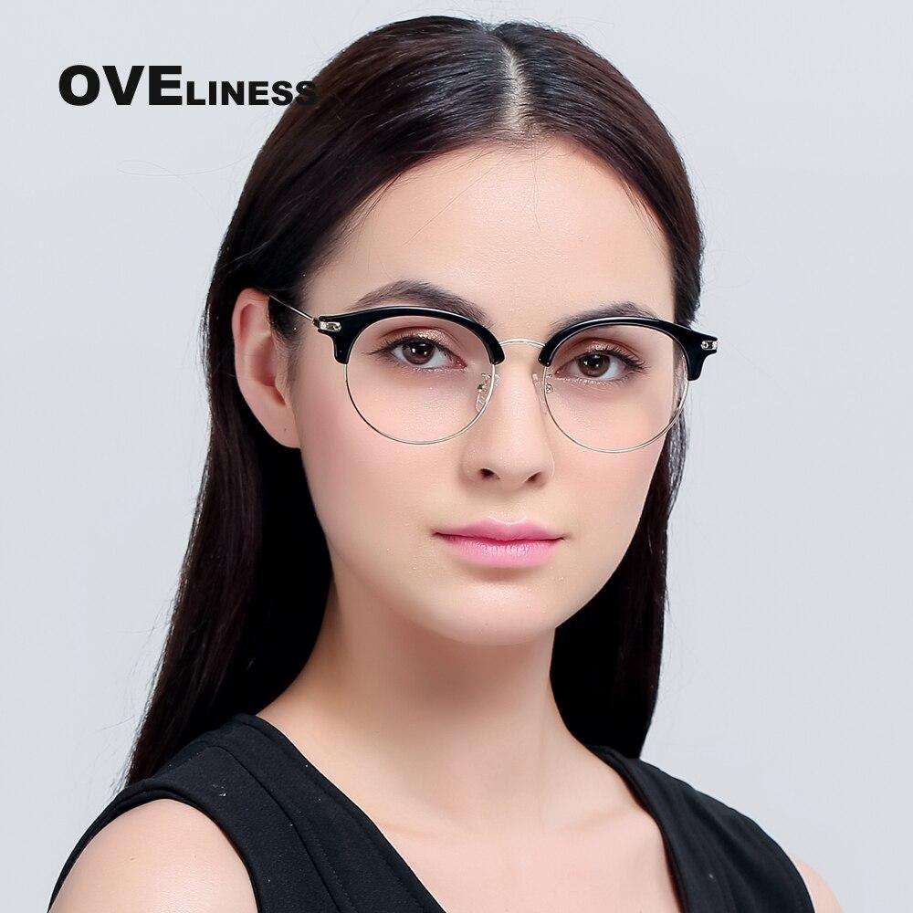 TR90 Eyeglasses Frames Women Classic Optical Eyeglasses Big Frame ...