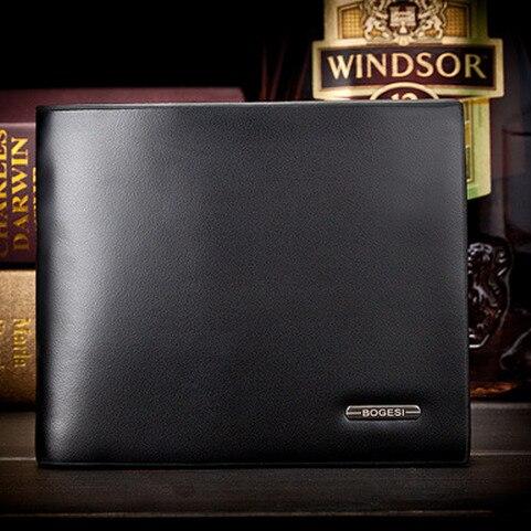 de crédito da carteira removível Modelo Número : Brand Leather Wallet