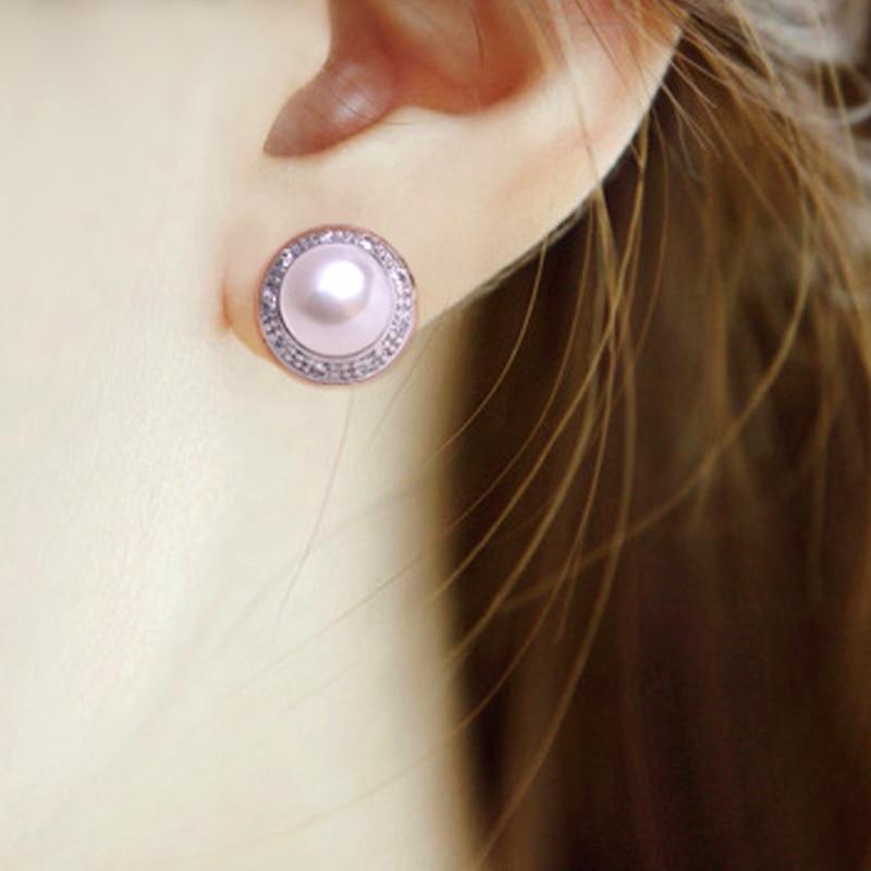 FENASY kolczyki z perłami, 2018 nowa naturalna kolczyki z perłami, - Wykwintna biżuteria - Zdjęcie 2