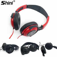 New Wired Headphones with Mic Gaming Headset Music Earphones 3.5mm AUX Foldable For Phones MP4 Computer PC fone de ouvido