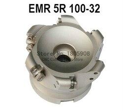 Darmowe zakupy EMR-5R-100-32-6T twarzy Frez czołowy wiertła płaskie obróbki zgrubnej do cięcia  frezowanie CNC do cięcia