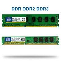 Xiede DDR 1 2 3 DDR1 DDR2 DDR3/PC1 PC2 PC3 512 mb 1 gb 2 gb 4 gb 8 gb 16 gb Ordinateur De Bureau PC RAM Mémoire 1600 mhz 800 mhz 400 mhz