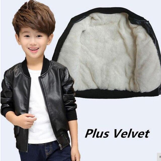 CHCDMP Anak Laki-laki Baru Mantel Musim Gugur Musim Dingin Korea Fashion  anak Jaket Beludru 65a754299e