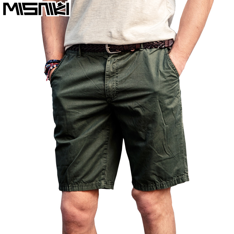 Drop shipping pamuk erkekler şort moda yaz askeri kargo iş şort - Erkek Giyim