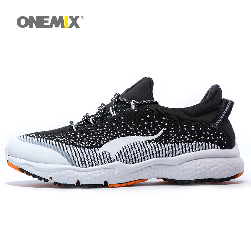 ONEMIX New Mens Running Shoes Breathable Outdoor Sport Shoes 2016 Men's Athletic Shoes Men's Shoes Free Shipping Size EU 39-46 camel shoes 2016 women outdoor running shoes new design sport shoes a61397620