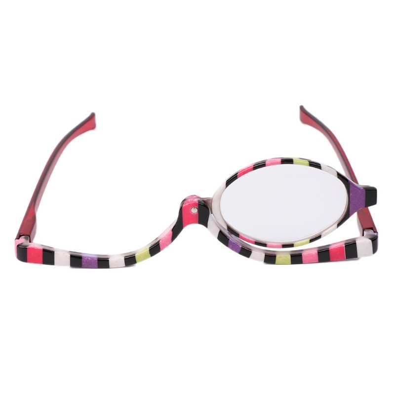 Magnifying Glasses Makeup Cosmetic Reading Glass Folding Eyeglasses +1.5~+4.0
