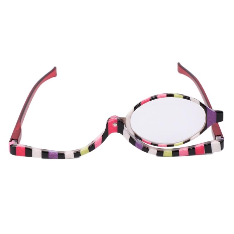 Humble Magnifying Glasses Makeup Cosmetic Reading Glass Folding Eyeglasses +1.5~+4.0